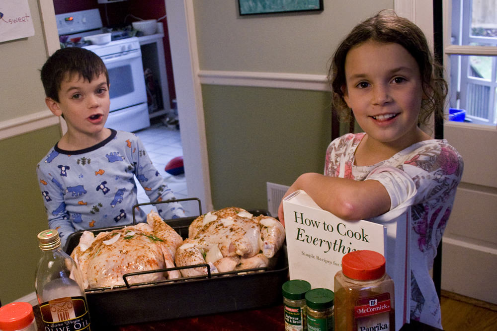 Celebrating National Kids take over the Kitchen Day!