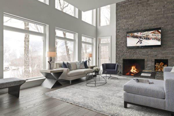 Stowe- Livingrm White Sofa