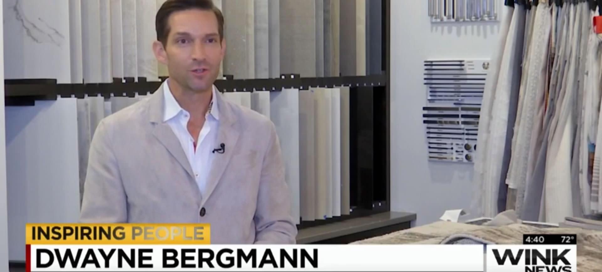 WINK TV: Inspiring People: Dwayne Bergmann doesn't think like many other interior designers